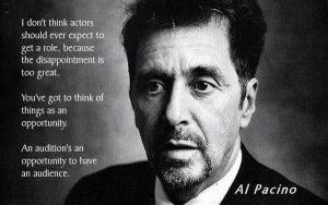 Al Pacino on Auditions quote